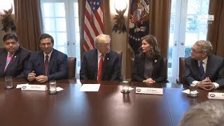 National news | President Trump Meets with Governors Elect