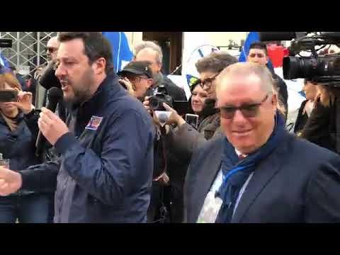 Salvini In Piazza Da Ancona (23.12.19)