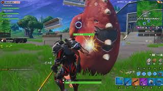 Fortnite-I played a match with the skin the SCIENTIST [NOTICE IN DESCRIPTION]