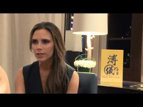 Victoria Beckham Unveils the New Exclusive Collection at Puyi Optical Beijing Boutique (Trailer)