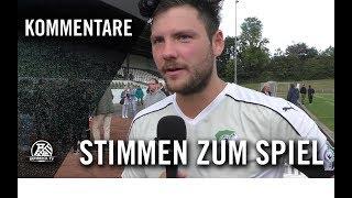 Die Stimmen zum Spiel | ETB SW Essen - SpVg. Schonnebeck (6. Spieltag, Oberliga Niederrhein)