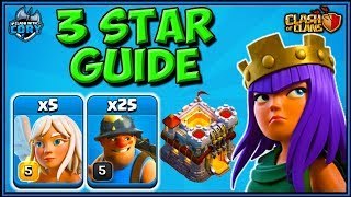 Queen Charge MINERS! BEST Attack Strategy at TH11! CLASH OF CLANS