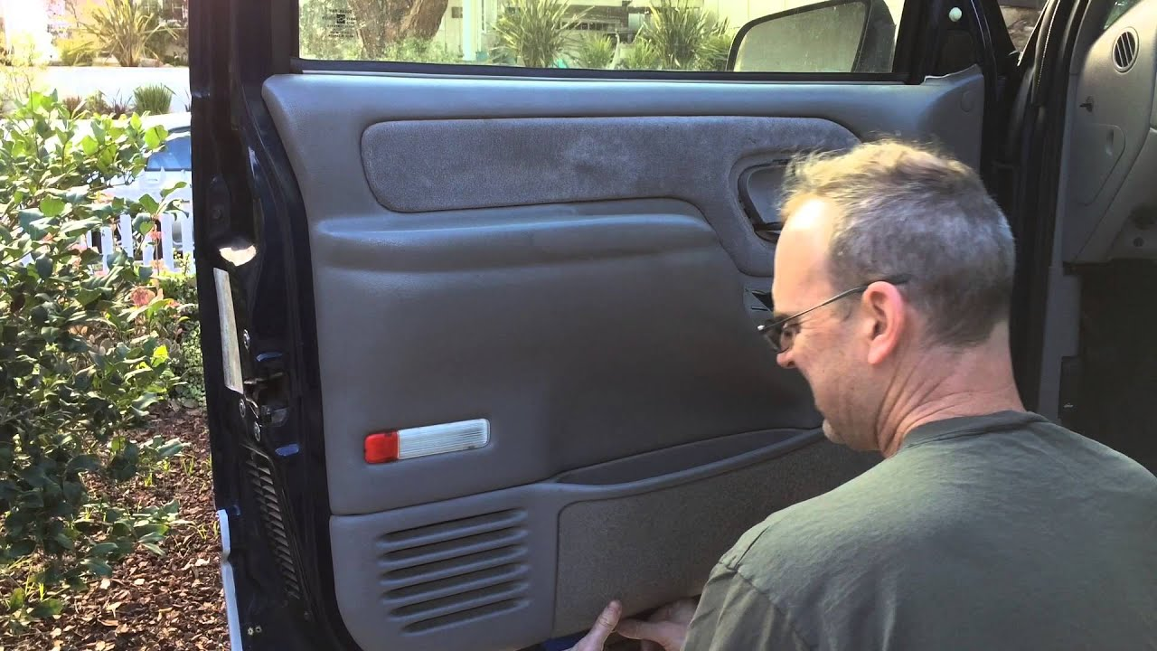 Chevrolet Truck Door Panel Removal Youtube