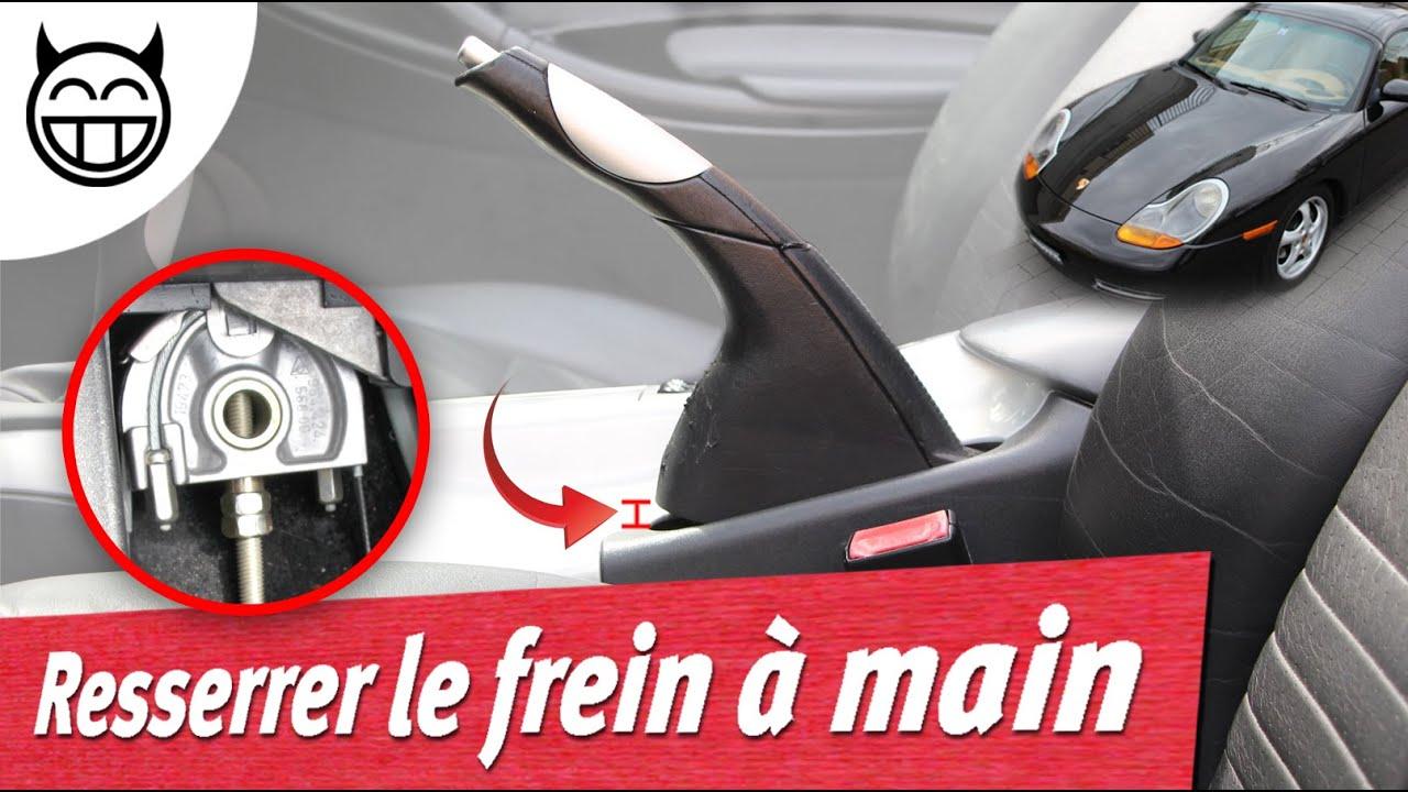🛠  Comment resserrer le frein à main - Tuto Boxster 986 et Porsche 996