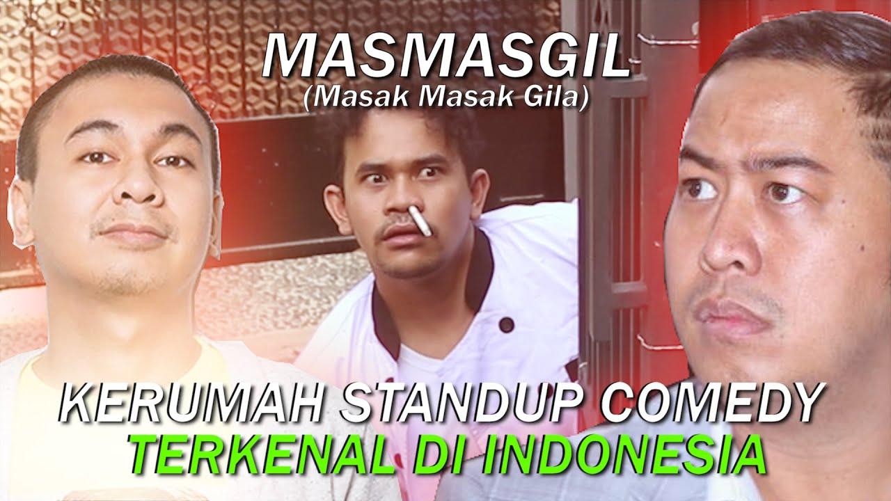 MASAK DIRUMAH KOMEDIAN TERKENAL SE INDONESIA!!