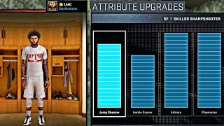 NBA 2K16 MyCAREER - Attribute Update !! | Showing EVERYTHING, Jumpshot, Crossovers, Dunks And MORE !