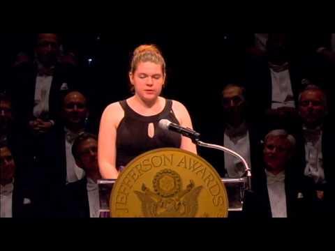 Elizabeth, NJ - Benedictine Academy at 2013 National Jefferson Awards in Washington, DC