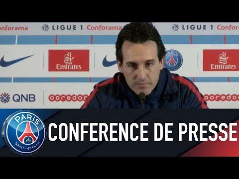 Paris Saint-Germain press conference PARIS SAINT-GERMAIN VS DIJON FCO
