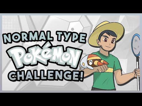 NORMAL TYPE POKEMON CHALLENGE! Pokemon Quiz with aDrive!