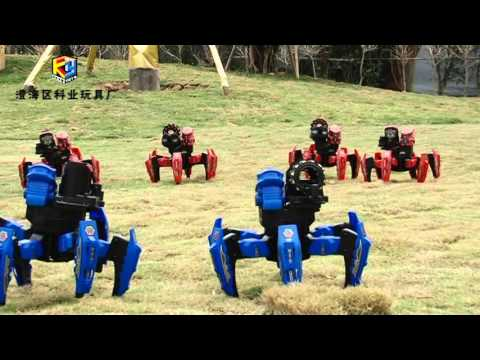 Robot điều khiển từ xa đại chiến