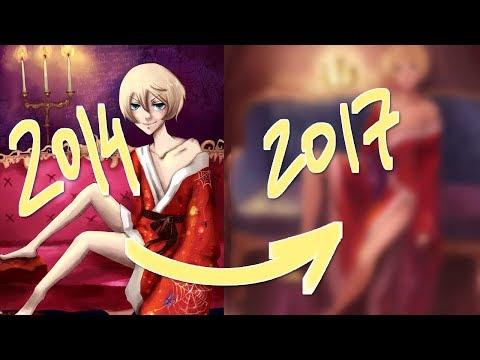 ♥DRAW THIS AGAIN ♥ - Перерисовываю арт из 2014го в 2к17ом~