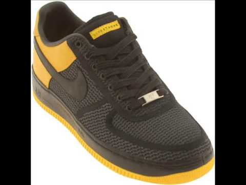 Nike Air Force 1 Low Supreme UNDFTD x LIVESTRONG - YouTube 762103113