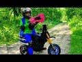 GRANNY Vs Den On Kids Pocket Bike Nerf Gun Game Pretend Play In Real Life Horror For Children mp3