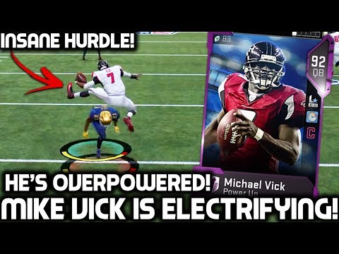 MICHAEL VICK! THE UNSTOPPABLE PLAYER! Madden 19 Ultimate Team