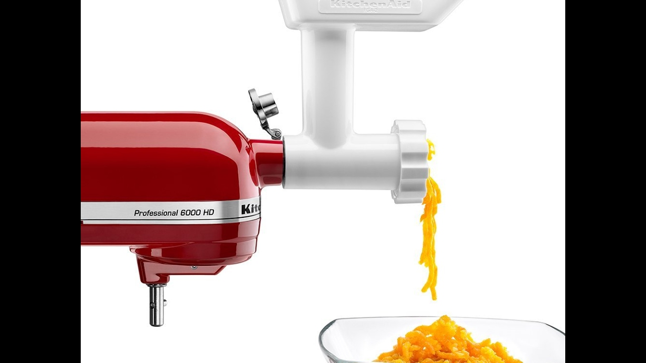 Review Kitchenaid Fga Food Grinder Attachment For Stand