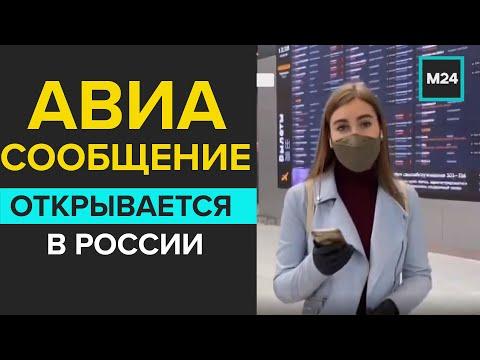 В России готовятся к открытию внутреннего авиасообщения - Москва 24