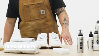How To Clean Suede And Leather Shoes: A Guide by Highsnobiety