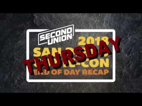 SDCC - Thursday Recap Jack Ryan, Amazon Fire TV, Mr  Mercedes & SyFy Fan  Awards