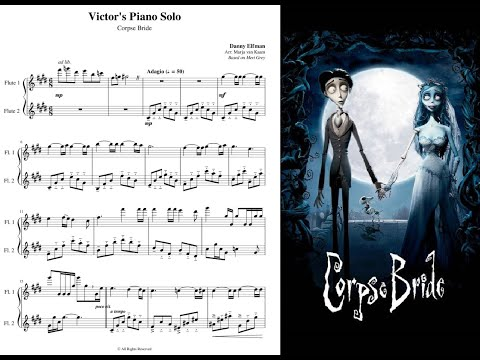 Victor's Piano Solo [Flute Duet] (Sheet Music)