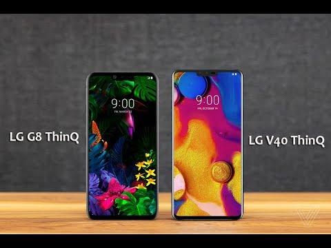 LG G8 ThinQ   Vs   LG V40 ThinQ - Comarison 2019