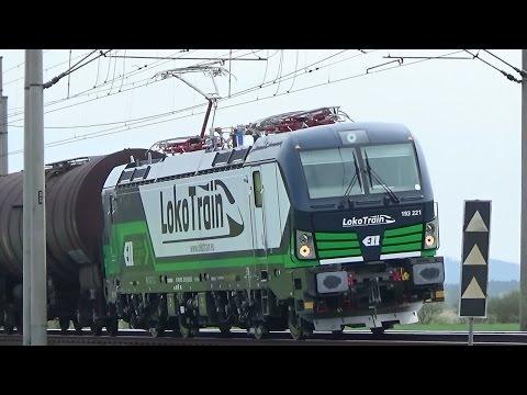 Vlaky DB, Hapag Lloyd, Metrans, LokoTrain, LokoTrans, ČD Cargo.