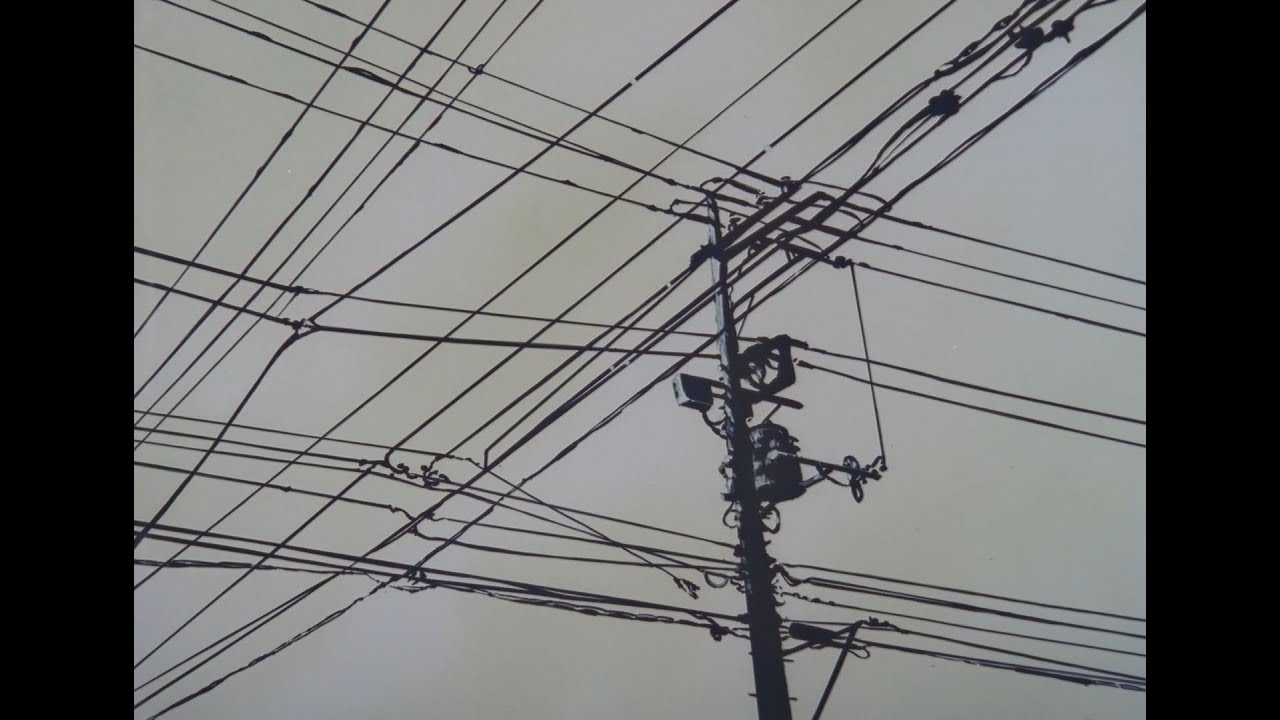 Telephone Pole Humming in Serial Experiments Lain - YouTube