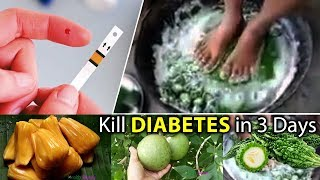 Kill Diabetes in 3 Days | Natural Supplements For Diabetes | Best Natural Supplements For Diabetes
