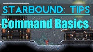 Starbound Tips: Commands