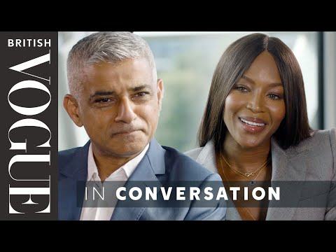 Naomi Meets… Sadiq Khan | The December Issue | British Vogue
