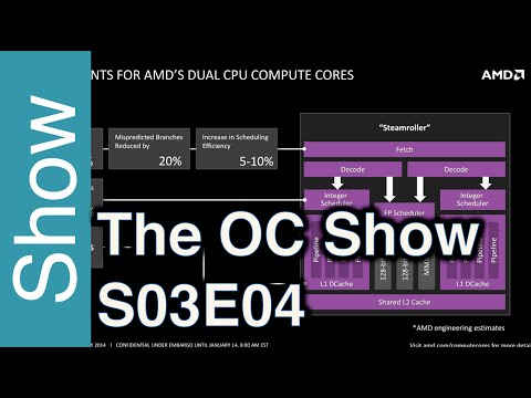 The OC Show - S03E04: AMD Excavator X4 845, HWT in South Africa and gatherings in Greece and Hungary