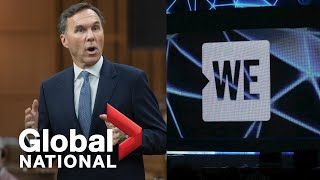 Global National: July 22, 2020 | Trudeau, Morneau in hot seat over WE Charity scandal
