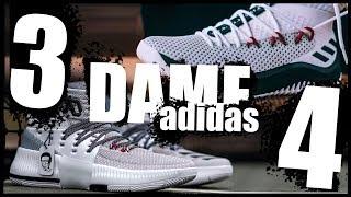 adidas Dame 3 VS Dame 4 Обзор