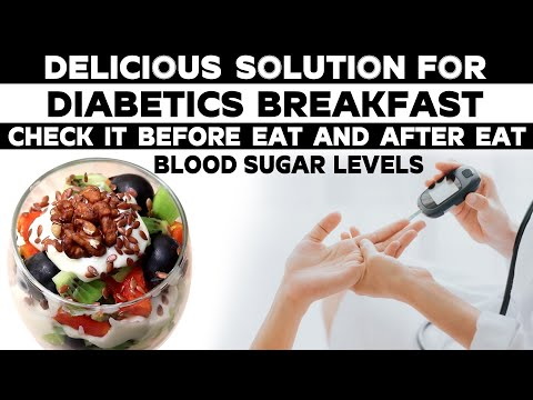 Delicious Solution for Diabetics Breakfast