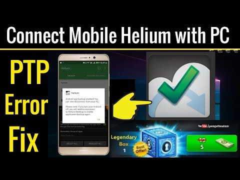 How To Connect Android Mobile Helium With PC | Backup & Restore Your Imported Data Without Root