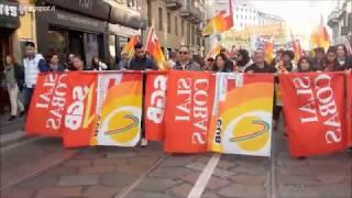 sciopero generale sindacati di base venerdì 27 ottobre 2017 Milano