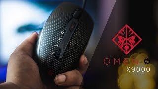 HP Omen X9000 | Unboxing and Overview | Budget gaming mouse