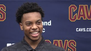 Cleveland Cavaliers introduce Darius Garland, their No. 5 pick in the 2019 NBA Draft