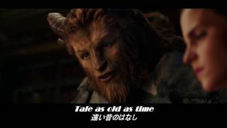歌詞 和訳 Beauty and the Beast - song by Celine Dion and Peabo Brys...