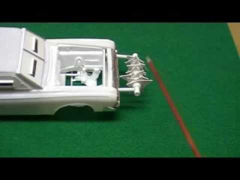 1/25 Scale Plastic Model Car Conversion to Monster Hunting ...