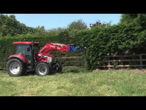 Swivil Trim Hedgecutter Attachment for Tractor Front Loaders