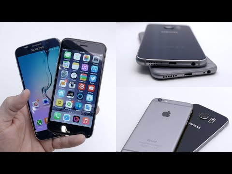 Vídeo comparativo: Samsung Galaxy S6 Vs iPhone 6