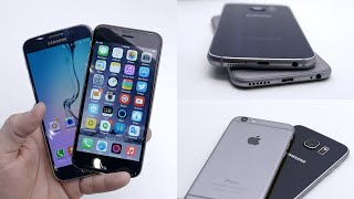 Samsung Galaxy S6 vs Apple iPhone 6 - Which is better?