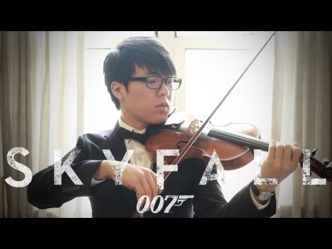 James Bond 007 Skyfall by Adele текст песни. Слушать песню Неизвестен - Adele Skyfall cover by The Mad Violinist (James Bond 007 Theme)