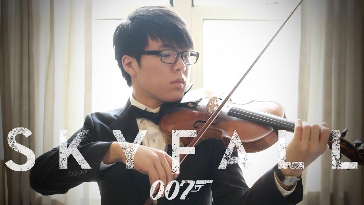 Adele - Skyfall - Jun Sung Ahn Violin Cover