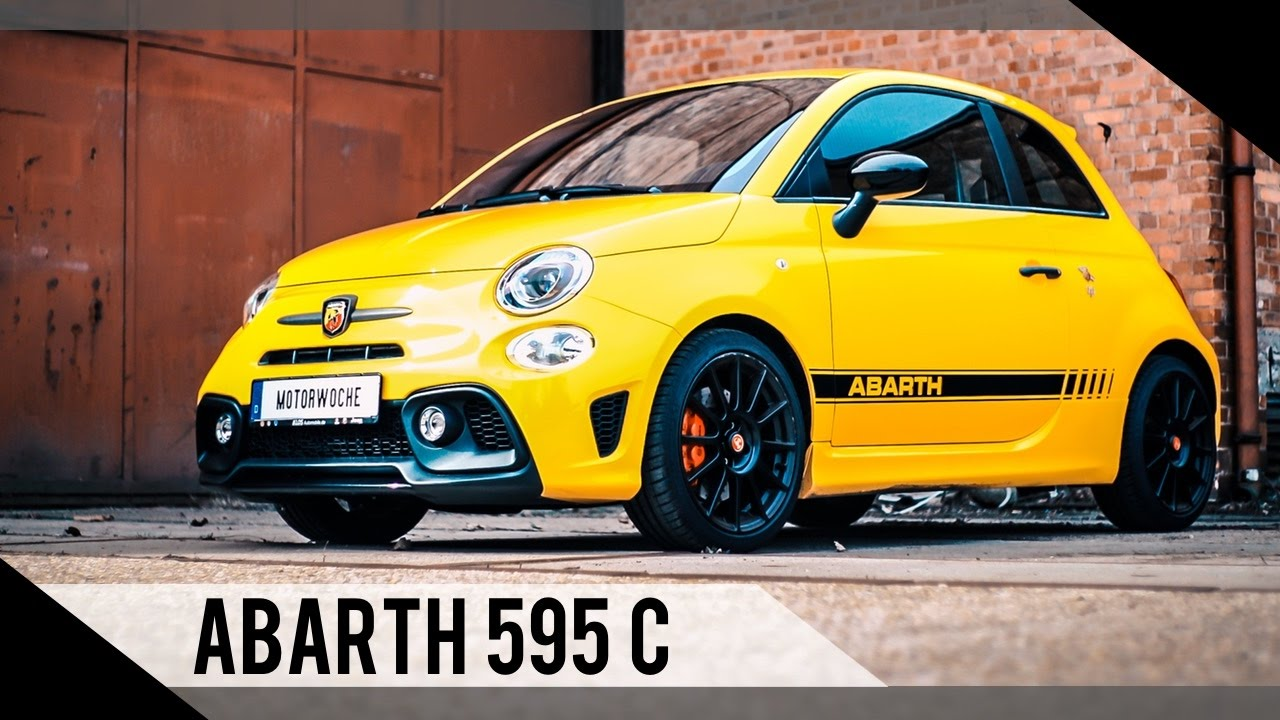 fiat abarth 595 competizione 2017 fiat 500 abarth test review fahrbericht motorwoche. Black Bedroom Furniture Sets. Home Design Ideas