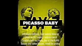 jay z picasso baby with lyrics