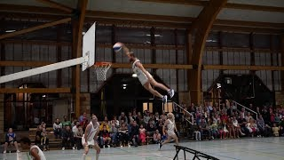 Des dunks et du Sabre Laser - 25 ans du hall sportif de Celles