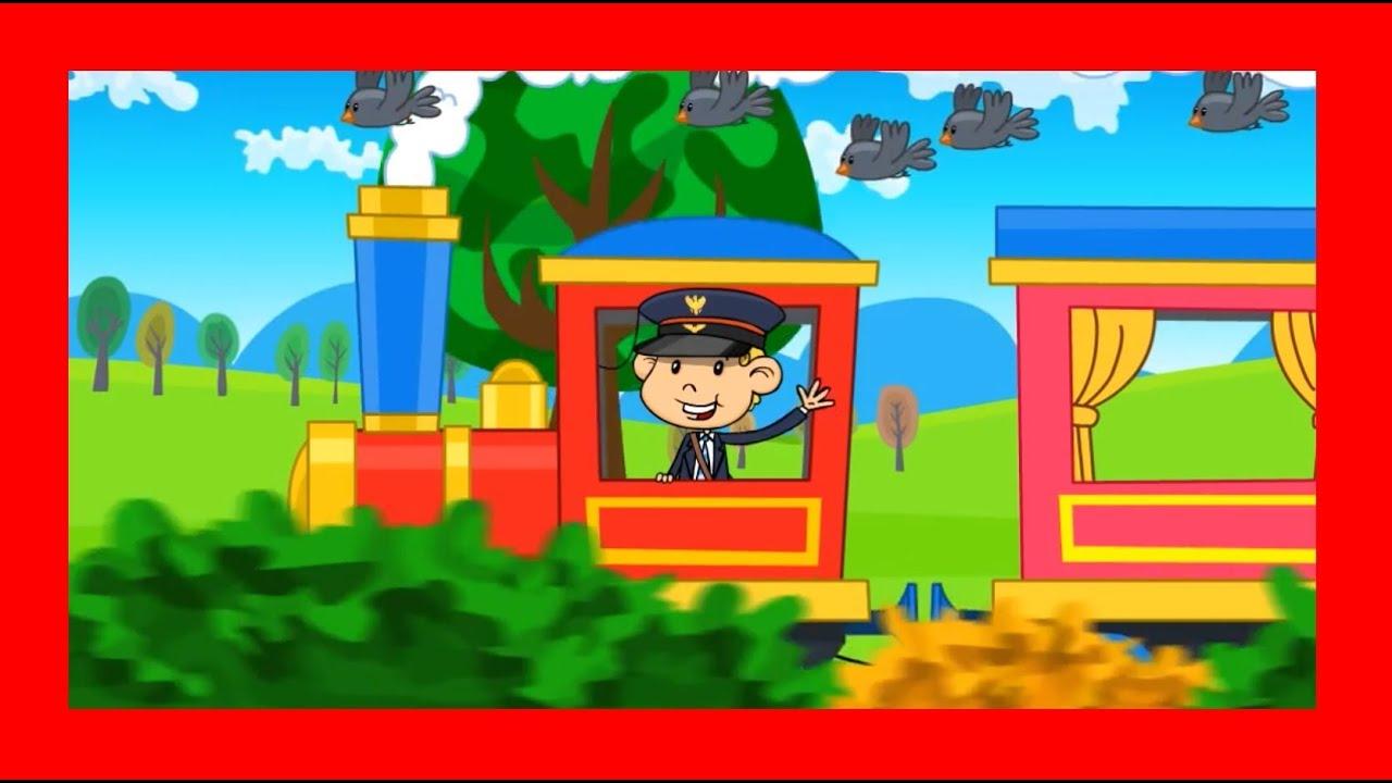Piosenki dla dzieci Jedzie pociąg z daleka BZYKtv