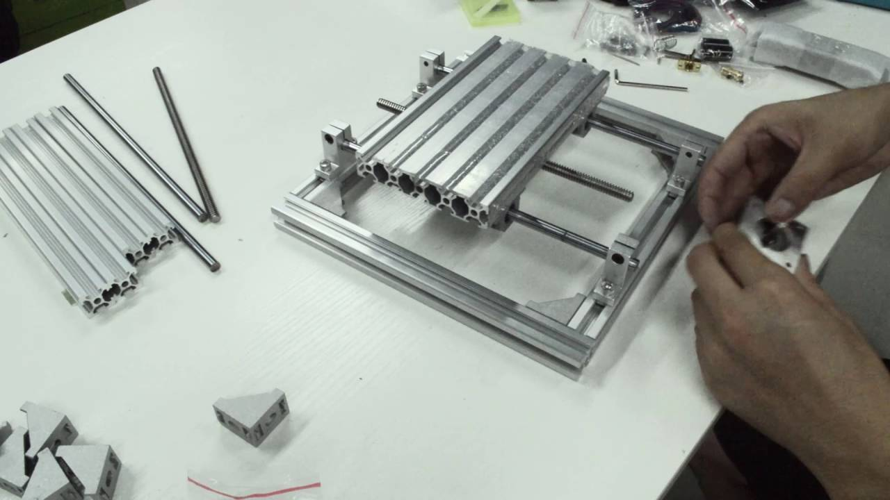 DIY CNC 3 Axis Engraver Machine installation tutorial - YouTube