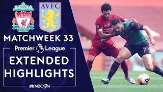 Liverpool v. Aston Villa | PREMIER LEAGUE HIGHLIGHTS | 7/5/2020 | NBC Sports